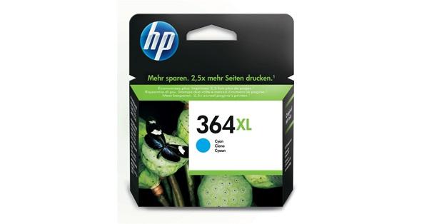 HP 364XL originele high-capacity cyaan inktcartridge